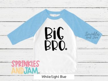 Big Brother Announcement Shirts