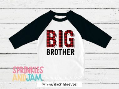 Big Brother T Shirt For Baby Boy