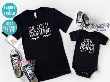 Mom and Daughter shirts